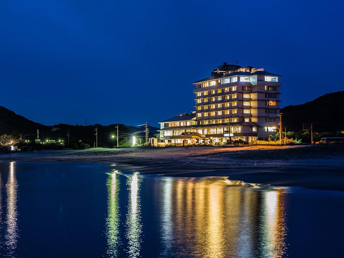 鳴門グランドホテル夜景